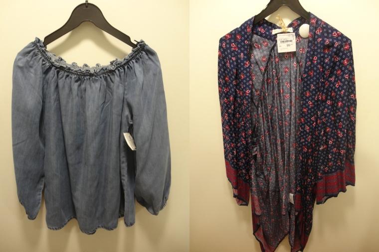 Bata jeans e kimono