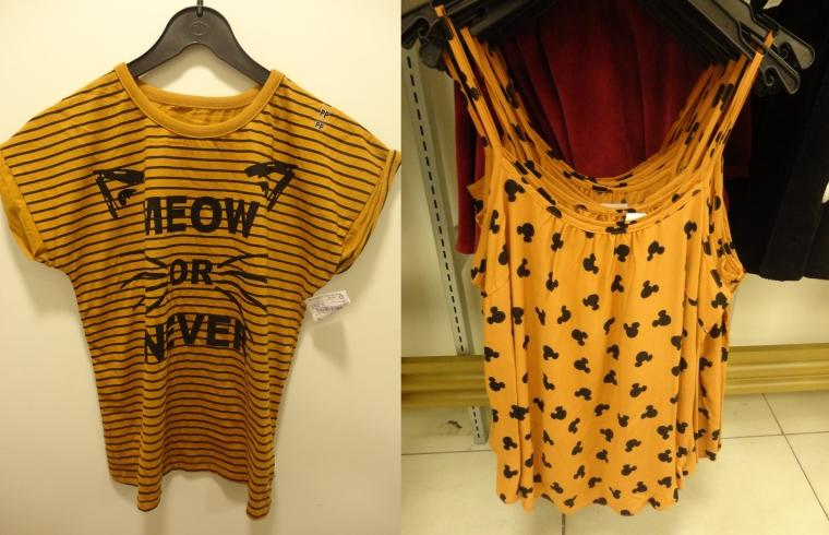 blusas amarelas